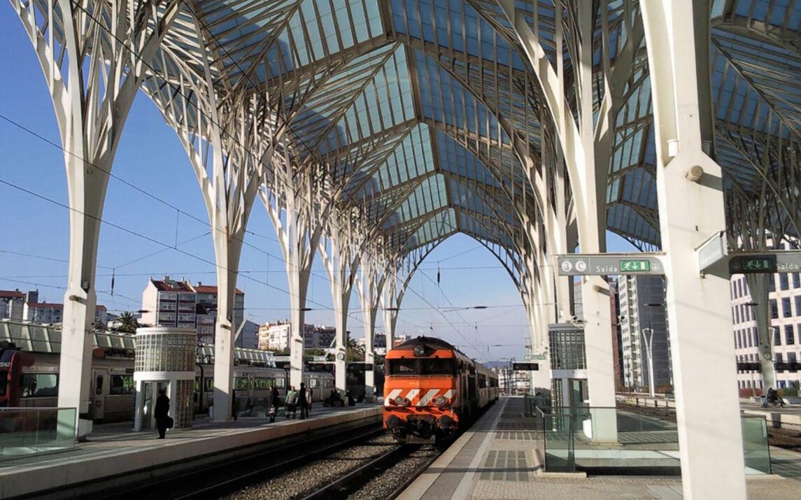 Der Ostbahnhof von Lissabon.