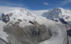 Monte Rosa-Gletscher