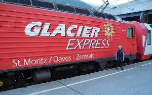 Glacier-Express von Zermatt