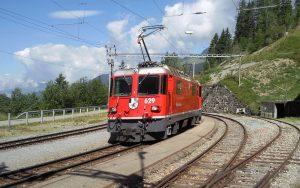Rhätische Bahn in der Schweiz