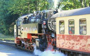 Schmalspurbahn Molli lässt Dampf ab