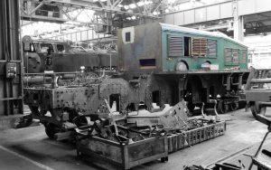 """Krokodil""-Lokomotive Ce 6/8 III 14305 von SBB Historic"