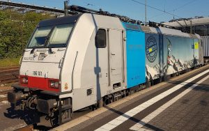 Railpool 186101 – 1 Locomotive - 4 countries - Alpenexpress