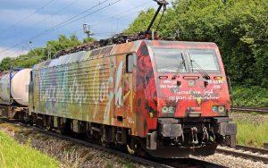 Vincent van Gogh Güterzug der ERS railways