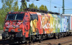 ERS railways ES 64F4-206 Vincent van Gogh Künstlermotiv zum 125jährigen Jubiläum