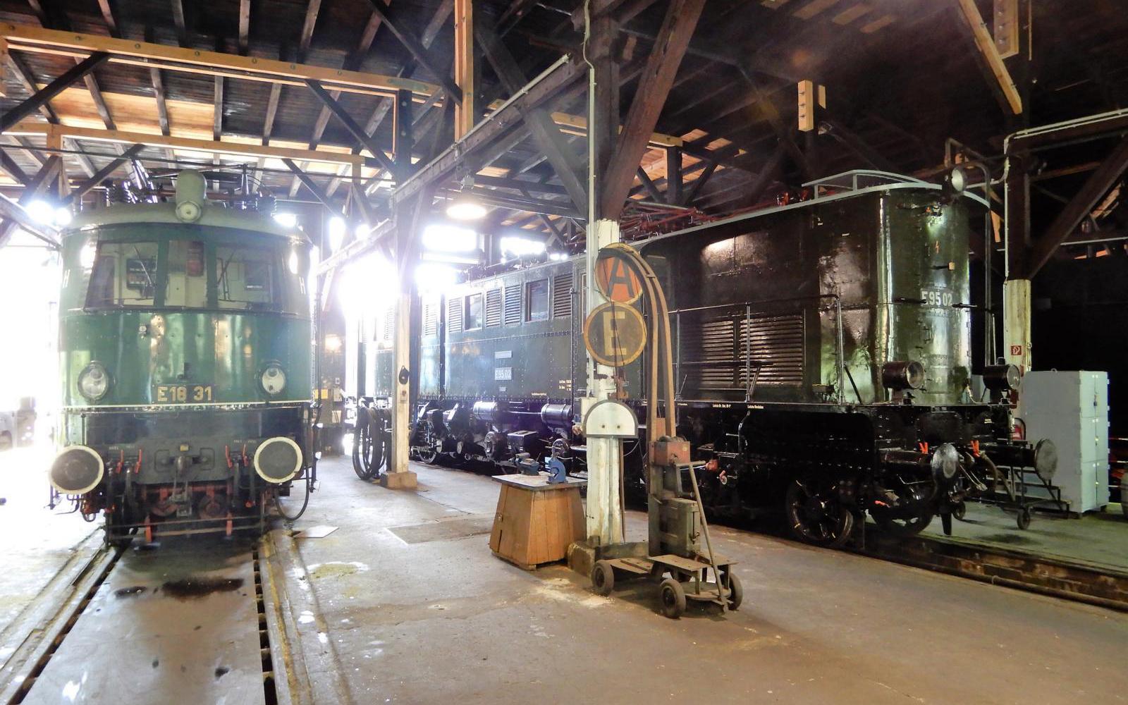 ©Foto: Christian Wodzinski   railmen   Im Lokschuppen des DB Museums Halle