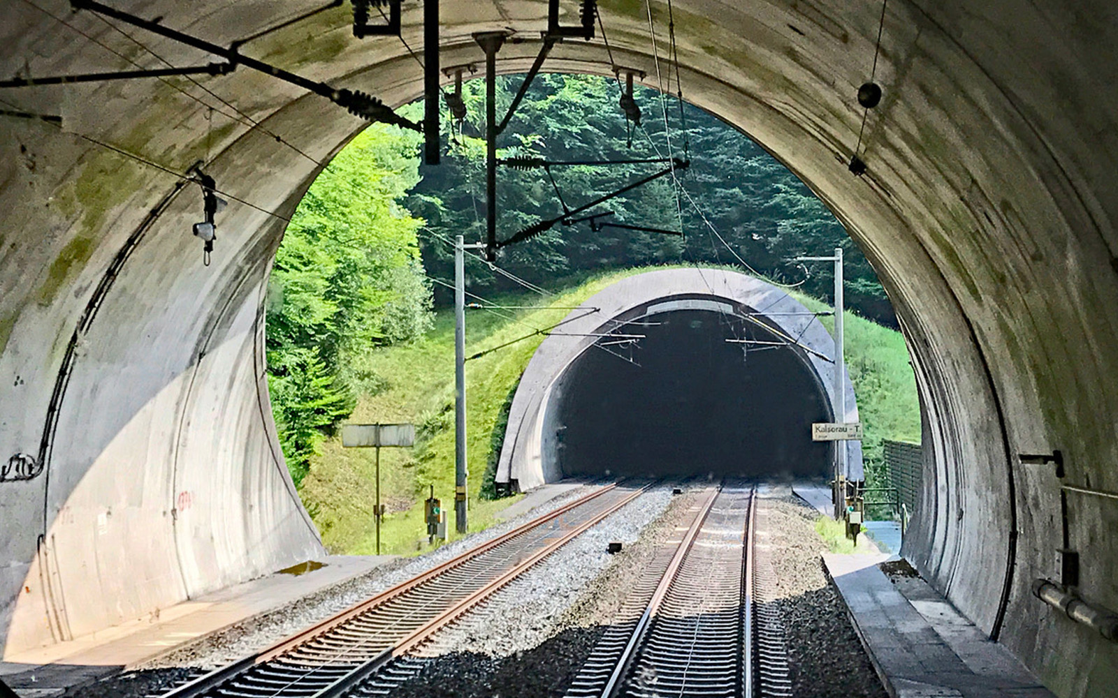 Blick in Kaiserautunnel