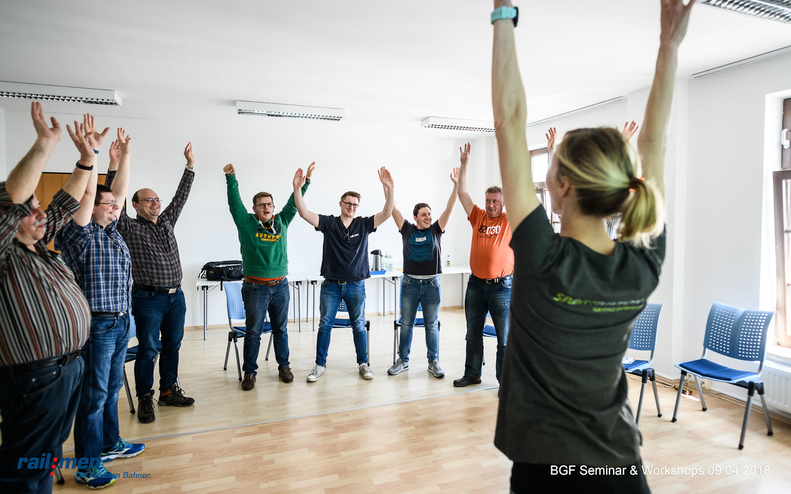 © Foto: Eric Kemnitz | Railmen BGF Workshop 1 | Sportivation