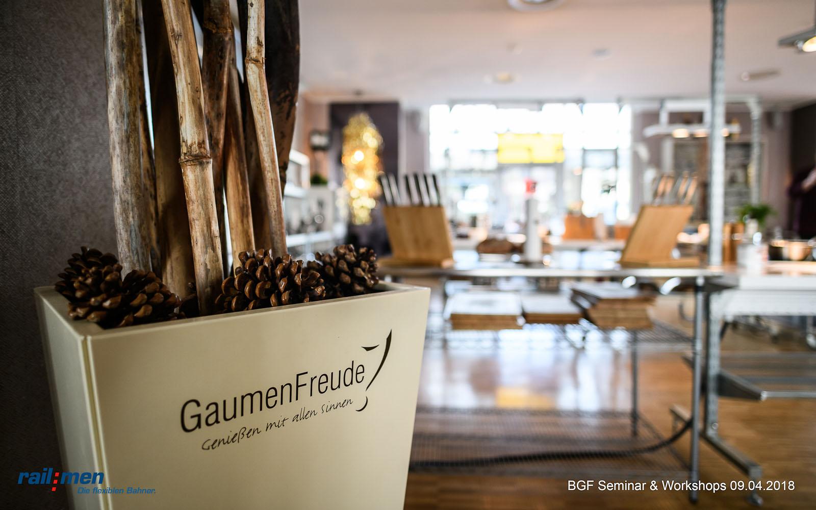 © Foto: Eric Kemnitz | Railmen BGF Workshop 1 | Gaumenfreude