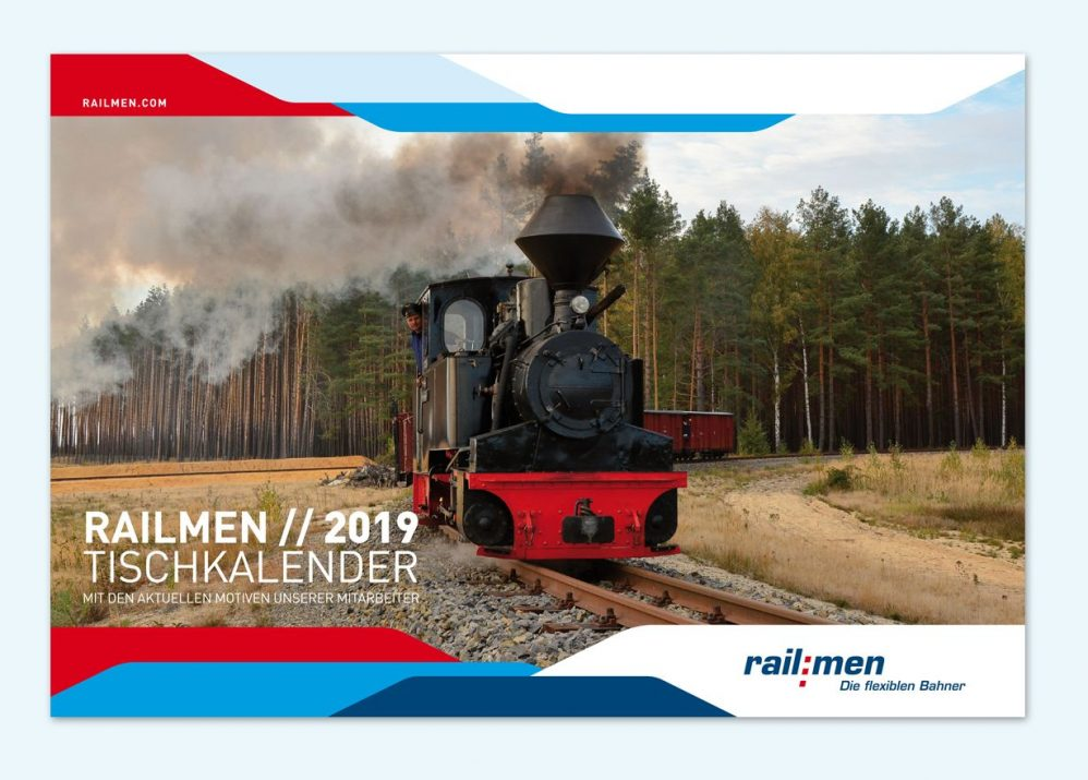 Railmen KALENDER LAYOUT 2019
