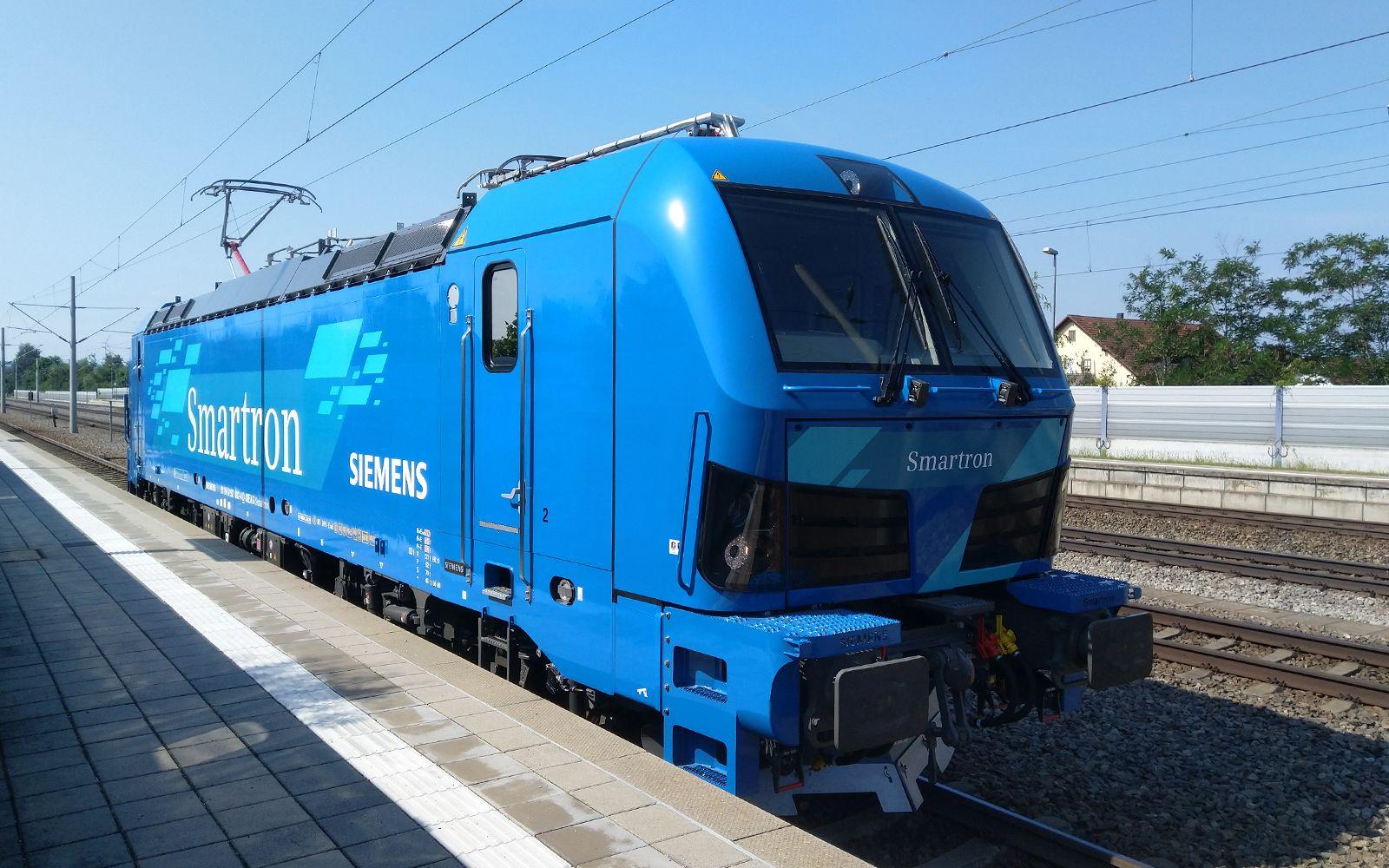©Foto: Denis Herwig   railmen   Siemens Smartron Baureihe 192 in Rohrbach an der Ilm