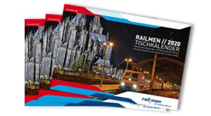 Fotokalender mit den besten Eisenbahnmotiven der Lokführer