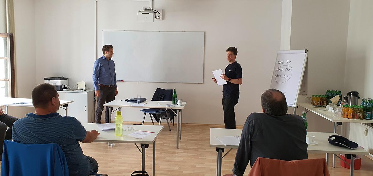 ©FOTO: railmen Susanne Sämann | Deeskalations-Workshop mit Björn Bell und Andreas Schreiber