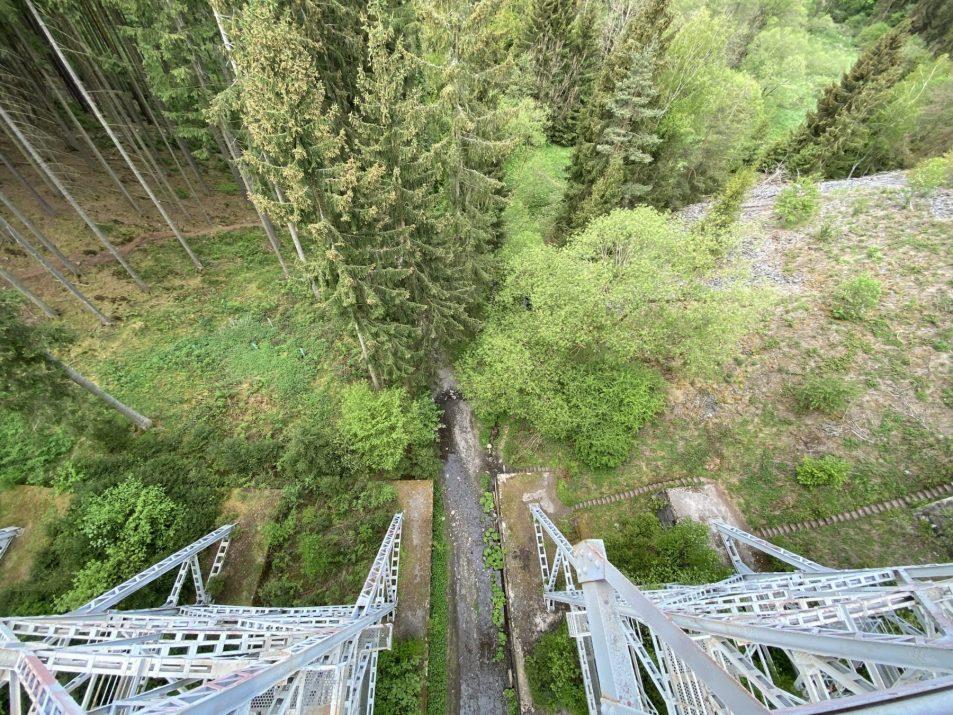 ©Foto: Jan Krehl | railmen | Blick von der Ziemestalbrücke im Thüringer Schiefergebirge
